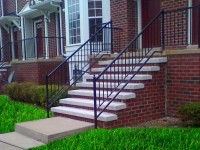 4) 3″ x 12″ x 5′ Custom made Step Treads.