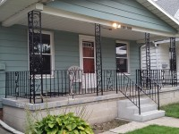 Porch Steps and Railing